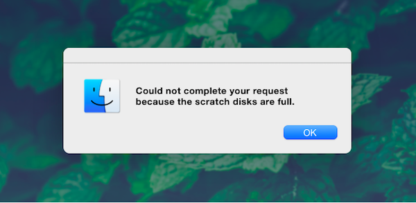 scratch-disk-is-full-error